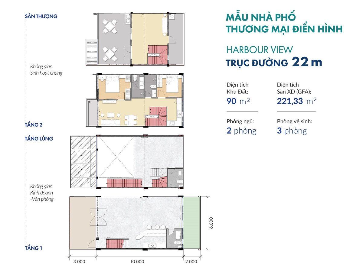 AQUARIA-GD1-SHOPHOUSE-HARBOUR VIEW-22m